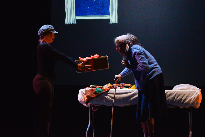 The Package, performance, play, theatre, Adelaide Fringe, 2017, drama, sad, moving, kids, child friendly, surreal, magical, fun, puppetry, music,