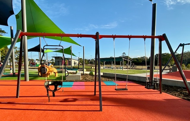 This new playground aims to be fun for children of all abilities