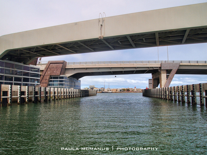 under the Tom 'Diver' Derrick Bridge