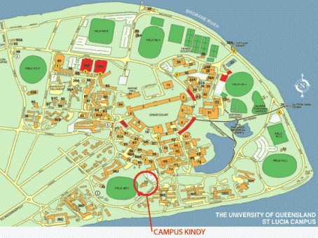 UQ Campus Map