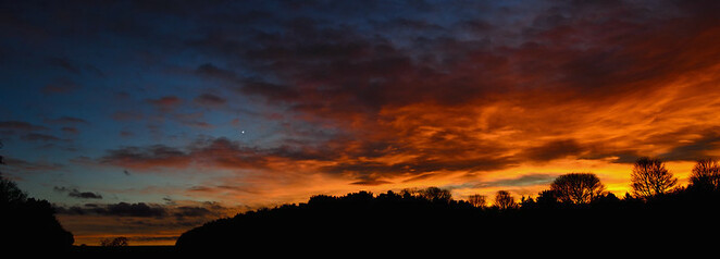 Venus will be visible at sunset in the west (Image courtesy of Jon Bunting @ Flicker)