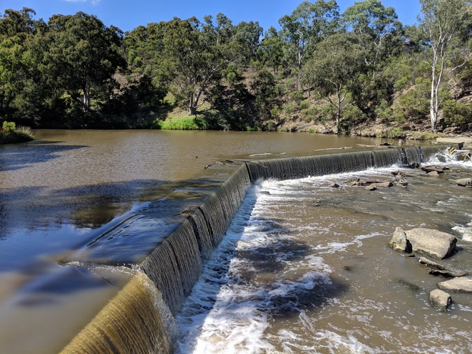 Yarra River, Dights Falls, geology, history, Yarra Trail, bike path, weir, heritage, Melbourne