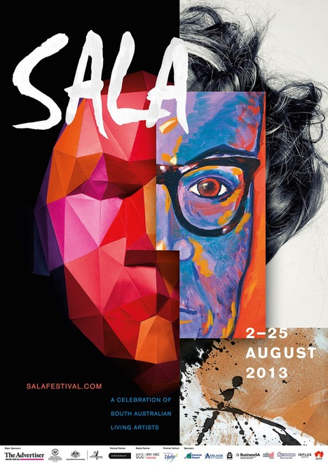 about south australia, art gallery, art in australia, aboriginal art, australian art, australian artists, contemporary art, live in adelaide, festival in australia, poster
