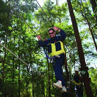 Adventure Parc Currumbin Bird Wildlife Sanctuary Green Challenge