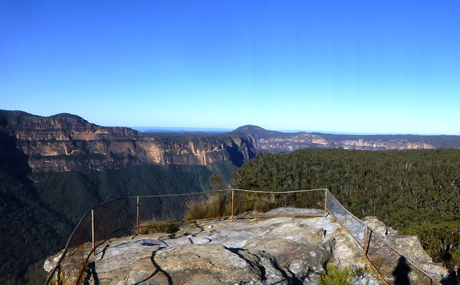 anvil rock, blue mountains, outdoors