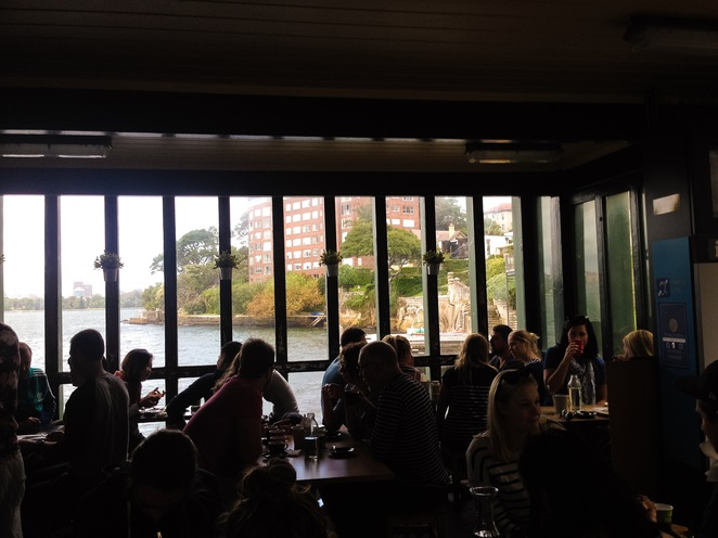 Axil, Coffee. Cafe, Sydney, Waterfront, View, Brunch, Egg, Burger, GMV, Weekend,Wharf, lunch,