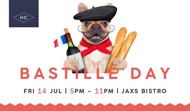 Bastille Day 2017, Bastille Day Singapore, Hollandse Club Singapore, French wine