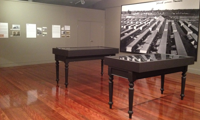 Behind the Gate Exhibition Holsworthy Internment Camp