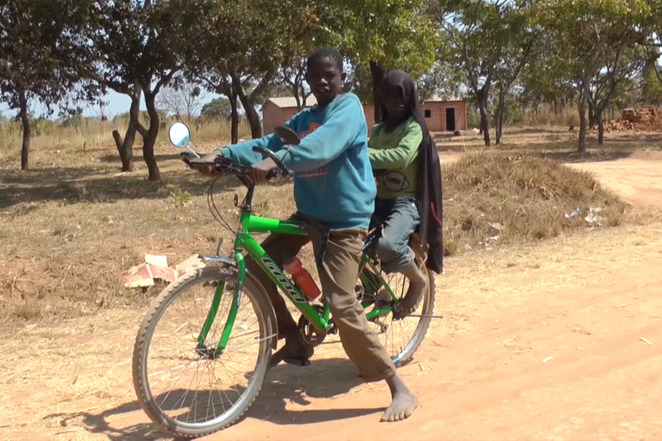 bike, donate, charity, Africa