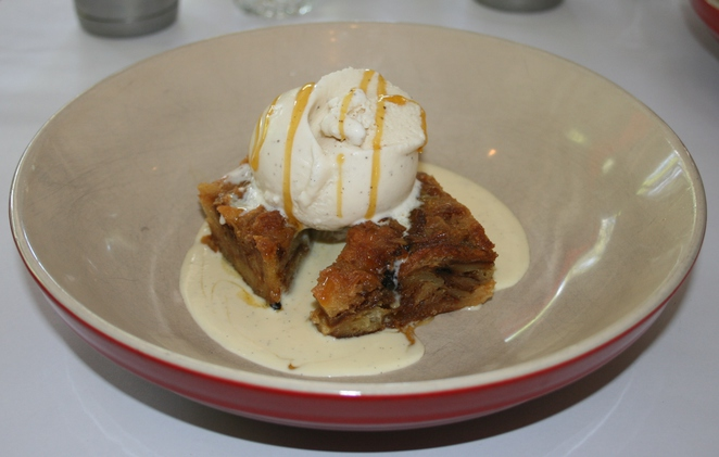 Bitton's bread and butter pudding