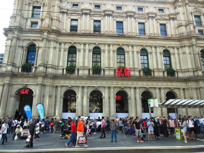 bourke street mall H&M