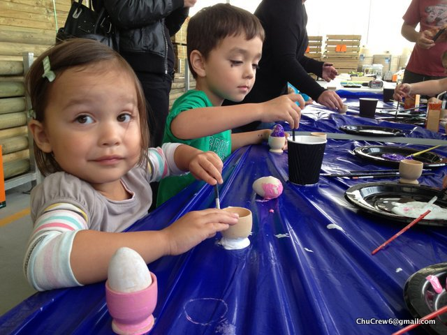 Bunnings Easter Craft, free easter melbourne
