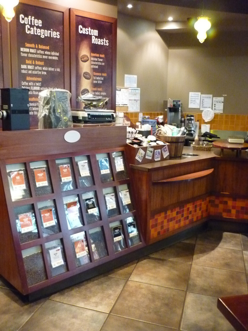 Coffee Bean Display