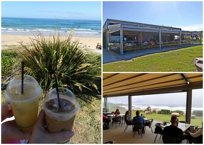 crest, anna bay, birubi beach, port stephens, NSW, newcastle, day trips from newcastle, cafes, water views, NSW, top cafes, best breakfast cafes, best cafes, top cafes,