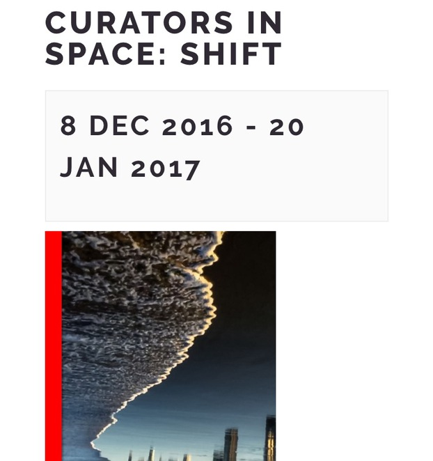 Curators in Space: Shift