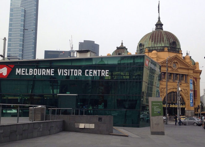 Fed Square, Flinders Street Station Clocks