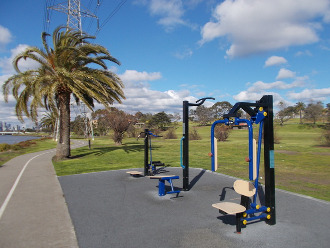 footscray park exercise equipment