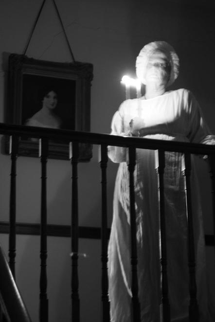 Ghost night at old government house sydney for Classic haunted house novels