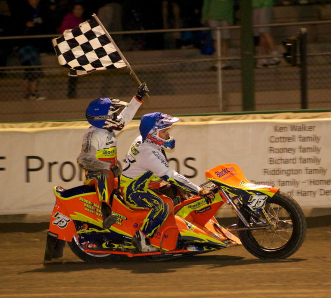 Gillman Speedway, Solo stars, Sidecar stars, Jack Young Cup, Darcy Ward