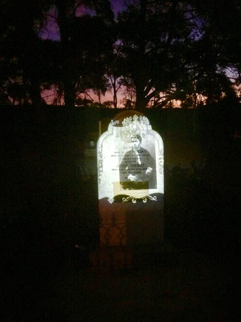 golden grove cemetery projected history walk