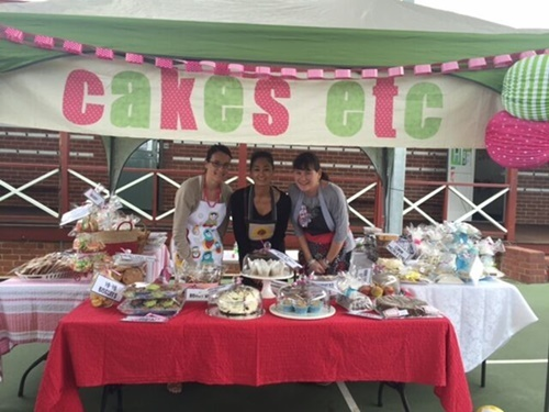 great,cake,stall