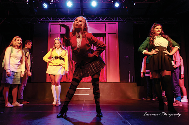 heathers, musical, redcliffe, theatre, moreton, bay, music, dance, acting, show