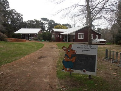 The Hills Forest Centre at Mundaring is always popular with kids