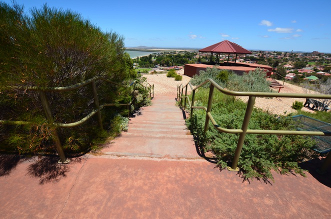 Hummock Hill, Whyalla, picnic area