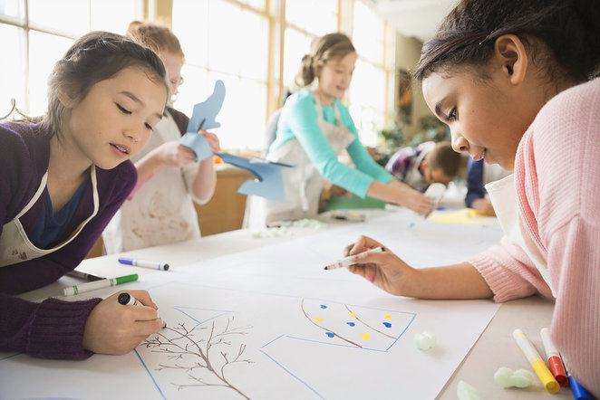 Kids art classes