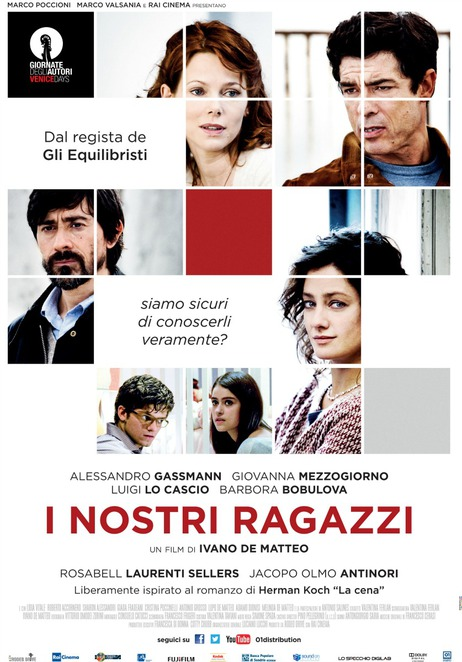 lavazza italian film festival 2015, the dinner, I NOSTRI RAGAZZI, film review, movie review, film festival, italian films, foreign films, film review, movie review, opening night, film festival guests, palace cinemas, astor theatre, kino cinemas, cinema paradiso, luna on sx, state cinema