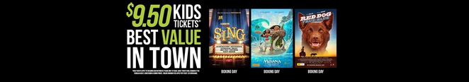 limelight cinemas, canberra, ACT, school holidays, movies, less than $10, family friendly,