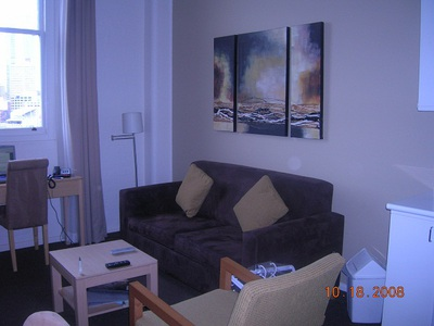 Living room, apartment
