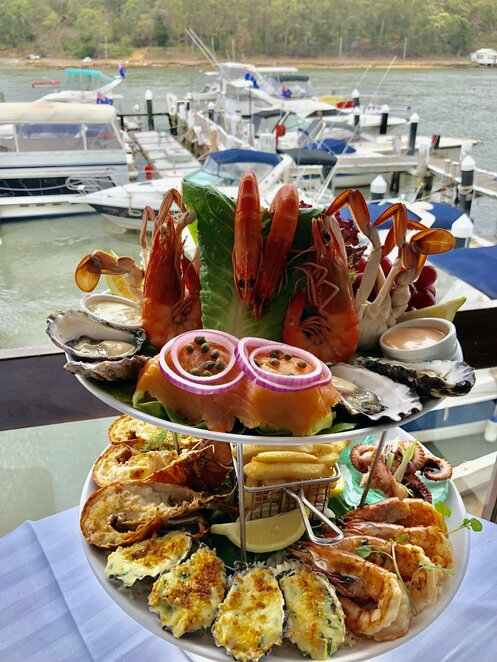 lugarno seafood, seafood restaurants south sydney, best seafood sydney, seafood restaurants on the water sydney
