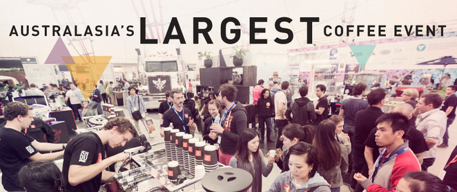 Melbourne international coffee expo 2015 showgrounds 13-15 march barista world class