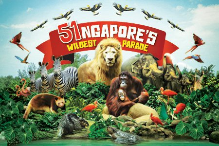 NDP, SG51, Singapore Zoo, River Safari Singapore, Cheap ticket to Singapore Zoo, wild life singapore