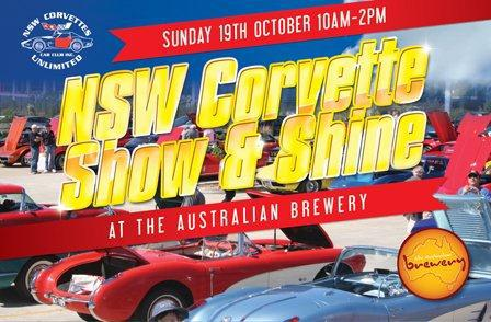 NSW Corvette Show & Shine show australian hotel and brewery october 2014 classic iconic car exhibition