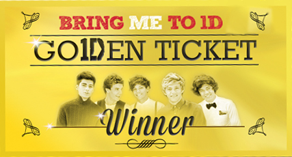 Bring me to 1d go1den ticket competition everywhere large image m4hsunfo
