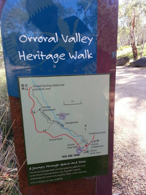 Orroral Heritage trail walk namadgi national park