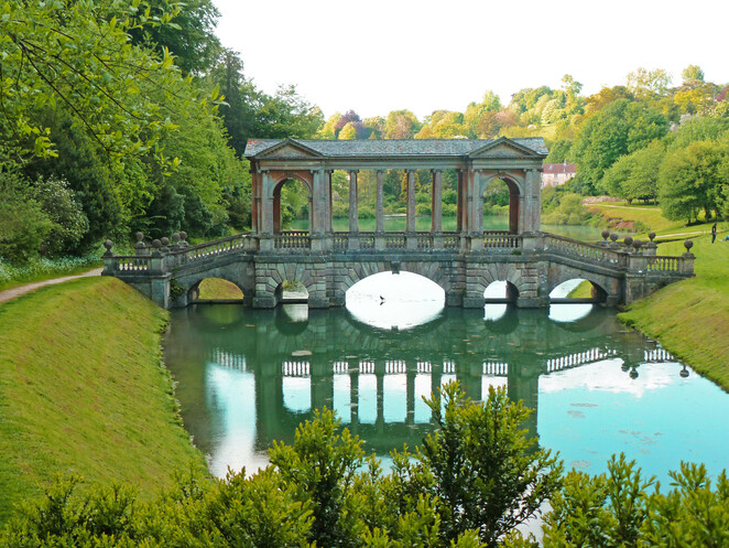 Palladian Bridge, Bath, England