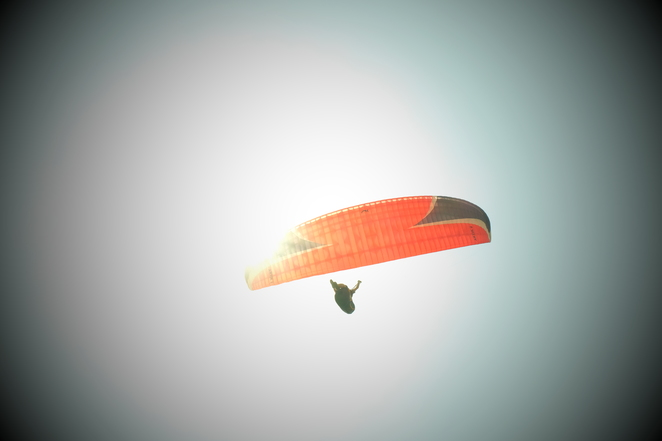 Paragliding, adventure, thrill, extreme sports