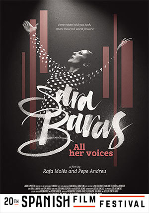 Sara Baras All Her Voices, Sara Baras Todas Las Voces, Sara Baras All Her Voices film review, Sara Baras All Her Voices movie review, Sara Baras All Her Voices documentary film, Spanish Film Festival 2017, Spanish films