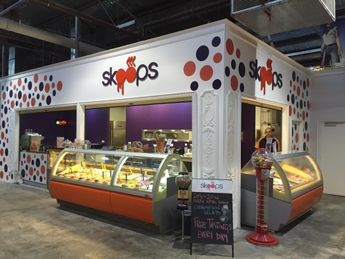 Skoops Gelato Cafe -image courtesy Skoops