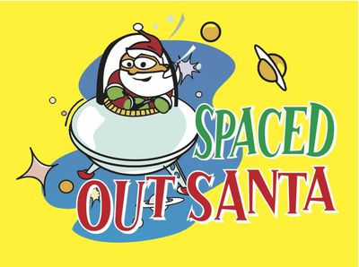 Spaced out Santa