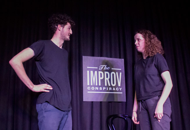 Sunday Buffet at The Improv Conspiracy