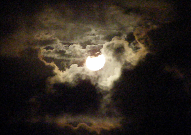 The moon will be bright and close to full for several days if it is obscured by clouds on the supermoon day