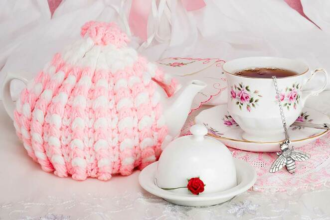 tea cosy competition and exhibition for cancer council, warratina lavender farm, wandin yallock, charity, fiundraiser, cure for cancer, knitter, knitting, crocheter, craft, tea cosy, knitting needles, crochet hooks, tea cosy competition, community event, fun things to do, donations, local hero