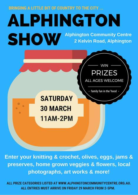 the alphington show 2019, alphington communithy centre, community event, fun things to do, country show, annual event, family friendly, competitions, jam making contest, craft skills, home grown, various competitions