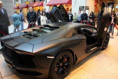 The Dark Knight Rises Lamborghini