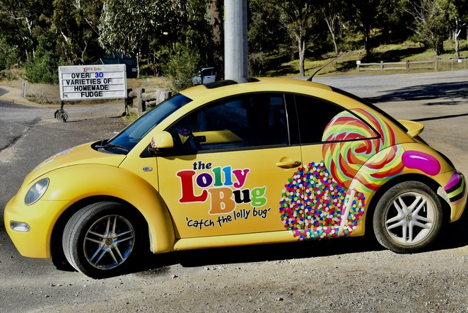 The Lolly Bug Little Hartley, Blue Mountains Lolly Shop, Jade Jackson, candy, lollies