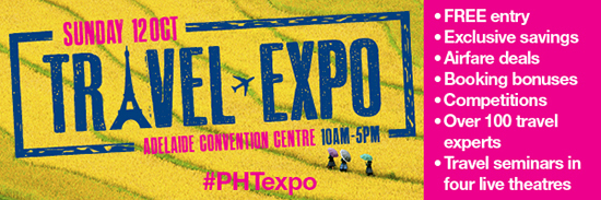 Travel Expo Phil Hoffmann Adelaide Convention Centre